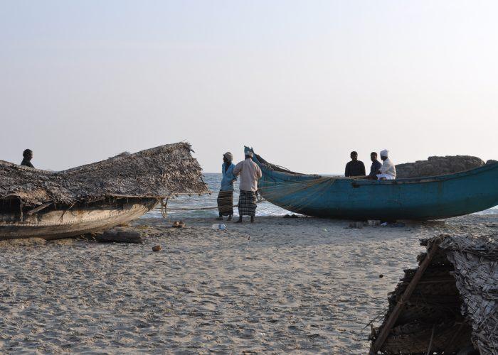 Kovalam Indien strand