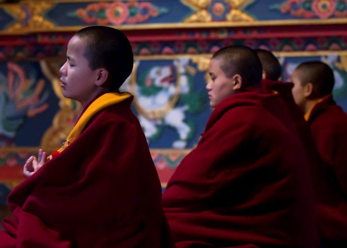 Nonner i Kathmandu Nepal