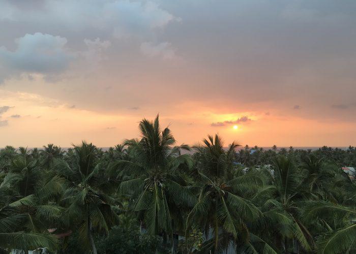 Prittwi Agastyaa Kovalam Indien udsigt